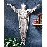 Design Toscano Die Segnung Jesu, Wandskulptur
