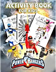 Power Rangers Activity Book For Kids: Explore The Essential Activity Book For Toddlers, Kids And All School-Aged Children Enjoy While Learning And Playing Many Educational Games With Fantastic Power Rangers Images