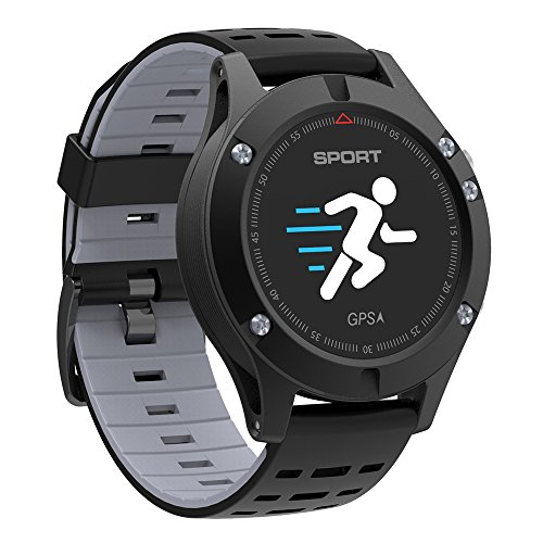 NO.1 F5 Reloj Inteligente Android con Monitor de frecuencia ...