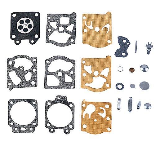 Carb Gasket Diaphragm - Savior Carburetor Carb Repair Kit Gasket Diaphragm for K20-WAT K20WAT K20 WAT WT WA Series WA-198 WA-207 WA-217 WA-218 WA-219 WA-226 WA-227 WT215 WT628 WT629 WT682 WT632 WT637 WT841 WT843 WT844 WT845