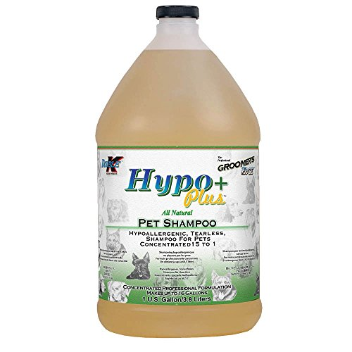 Groomers Edge Double K Industries Hypo+ Allergenic Shampoo Gallon