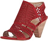 Vince Camuto Women's Esten Heeled Sandal, Cherry Red, 8 Medium US