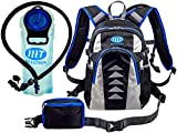 Hydration Backpack with 2L Water Bladder – for Men and Women - Excellent Day Pack for Running, Cycling, Hiking, Skiing and other Outdoor Adventures - Detachable Pocket included