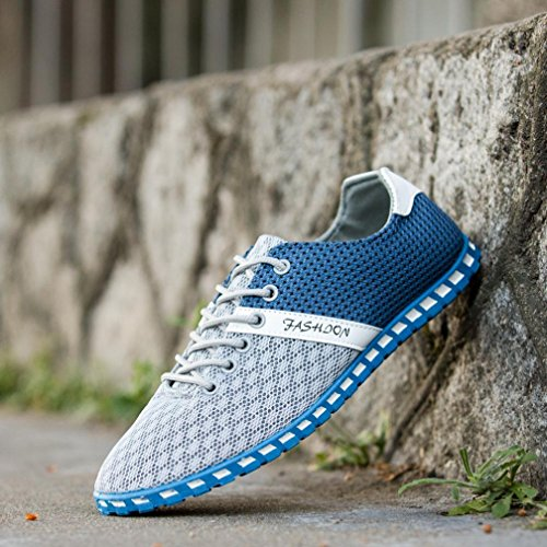 VEMOW Sneakers Espadrilles Outdoor Flops Fashion Breathable Shoes Trainers Beige Thongs Flats Flip Comfortable Running Wedge Casual Sports Shoes Style Walking New Mesh for Men r1wqrSv4