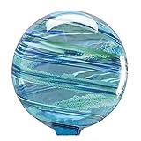 Ocean Mist Glowing Glass Gazing Globe