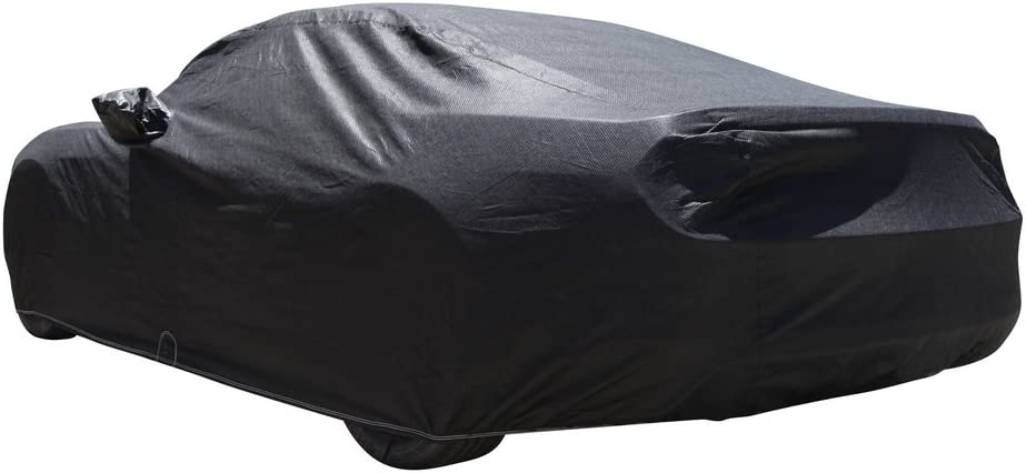 Black Satin CoverMaster Indoor Car Cover for 2017-2020 Cadillac XT5