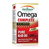 Best Natural Krill Oils - Jamieson Omega Complete Super Krill 1,000 mg Review