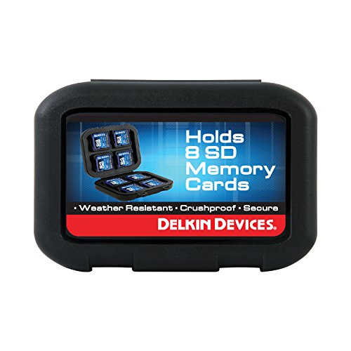 Delkin Secure Digital (SD) 8 Card Carrying Case DDACC-SD8