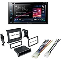 Toyota Tacoma 2005 -2011 Single Din Car Stereo Radio CD Player Dash Installation Kit Mount Trim + Harness