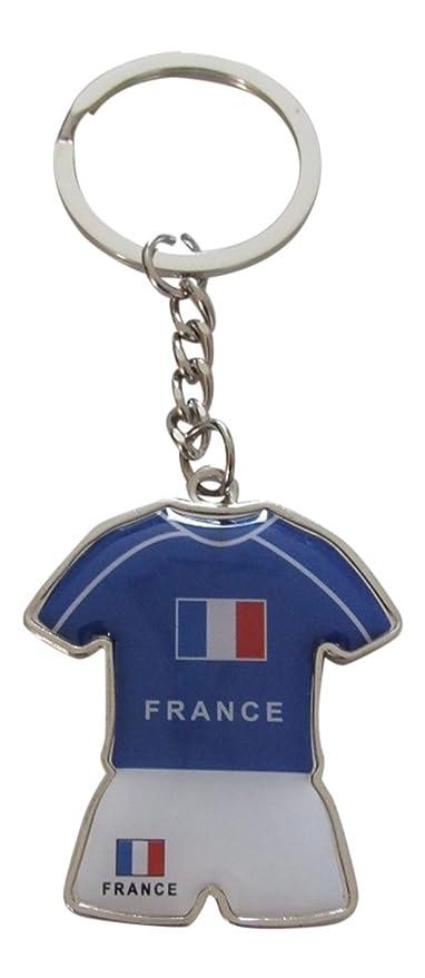Llavero, diseño de camiseta y pantalón corto del equipo de ...
