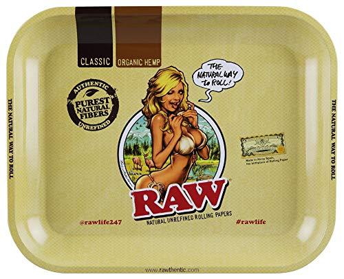 large raw rolling tray bundle - 7