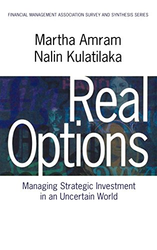Real Options: Managing Strategic Investment in an Uncertain World (Financial Management Association Survey and Synthesis)