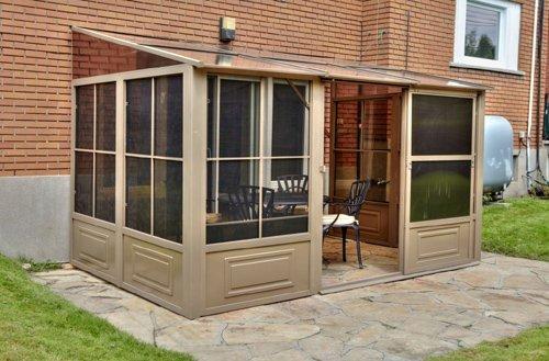 Amazon.com : Gazebo Penguin W1608 Add A Room 4 Season Solarium, 8 By  16 Feet : Sunroom Kit : Patio, Lawn U0026 Garden