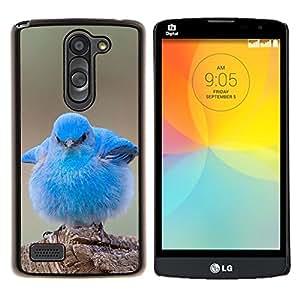 Dragon Case - FOR LG L Bello L Prime D337 - cute baby pet bird nature blue ornithology - Caja protectora de pl??stico duro de la cubierta Dise?¡Ào Slim Fit