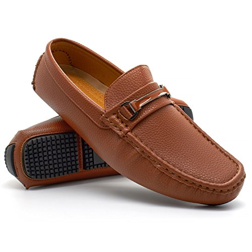 con cuña Sandalias marrón London Footwear Hombre RwSFFq