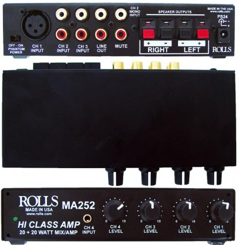 rolls, 4 Mixer Amp (MA252)