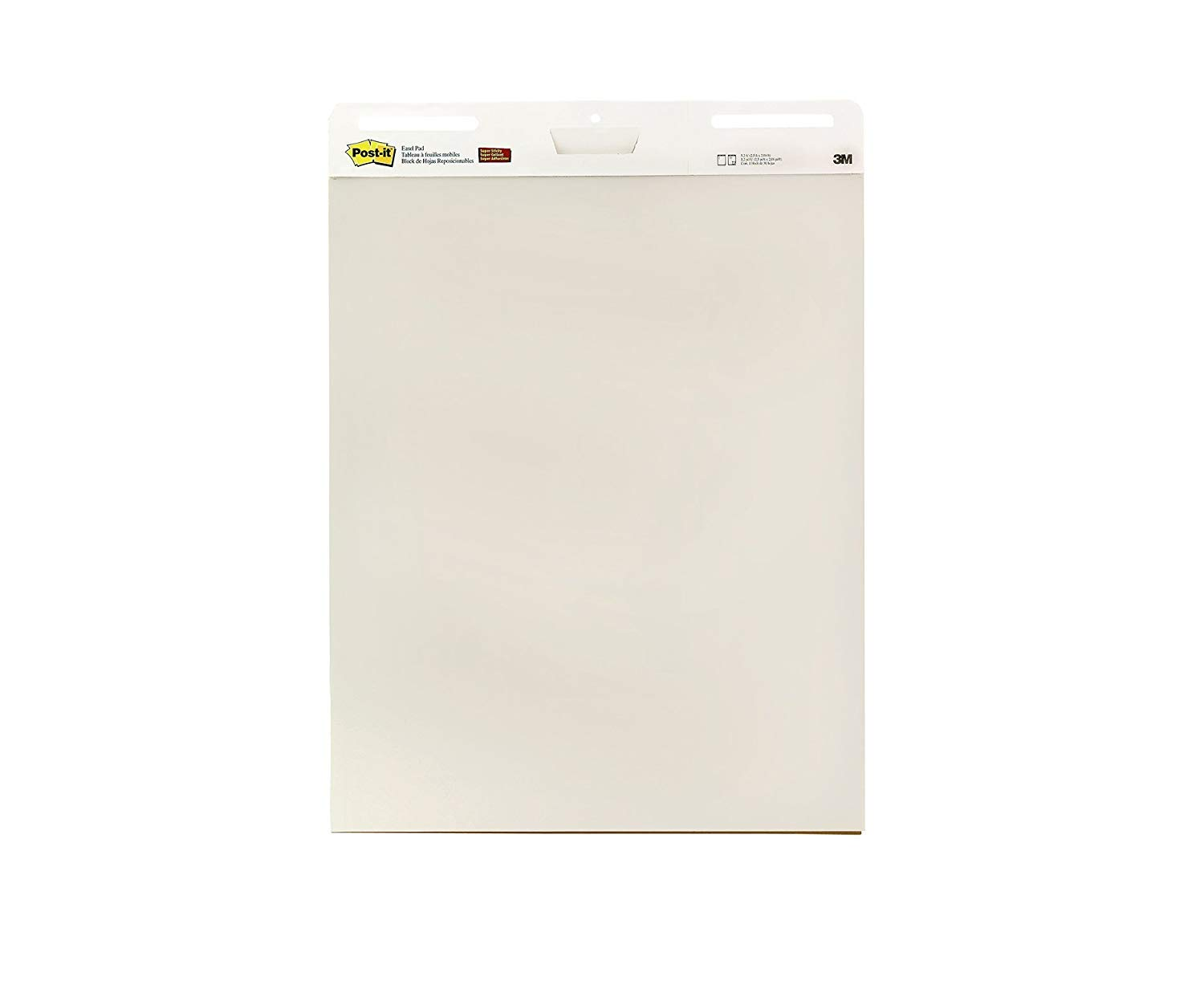 Post-it Super Sticky Easel Pad, 25 x 30 Inches, 30 Sheets/Pad, 2 Pads, Large White Premium Self Stick Flip Chart Paper, Super Sticking Power (559) (Limited Edition)