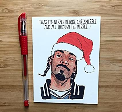 Snoop Dogg Christmas.Snoop Dogg Christmas Card Amazon Co Uk Office Products