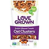 Love Grown Raisin Almond Crunch Oat Clusters, 12 oz. Bag