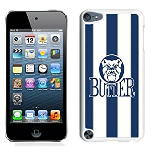 NCAA Pioneer Football League PFL Football Butler Bulldogs 02 Protective Cell Phone Hardshell Cover Case for Ipod 5th Generation White iPod touch 5 Case