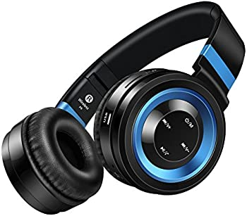 Sound Intone P6-BB Over-Ear Wireless Bluetooth Headphones
