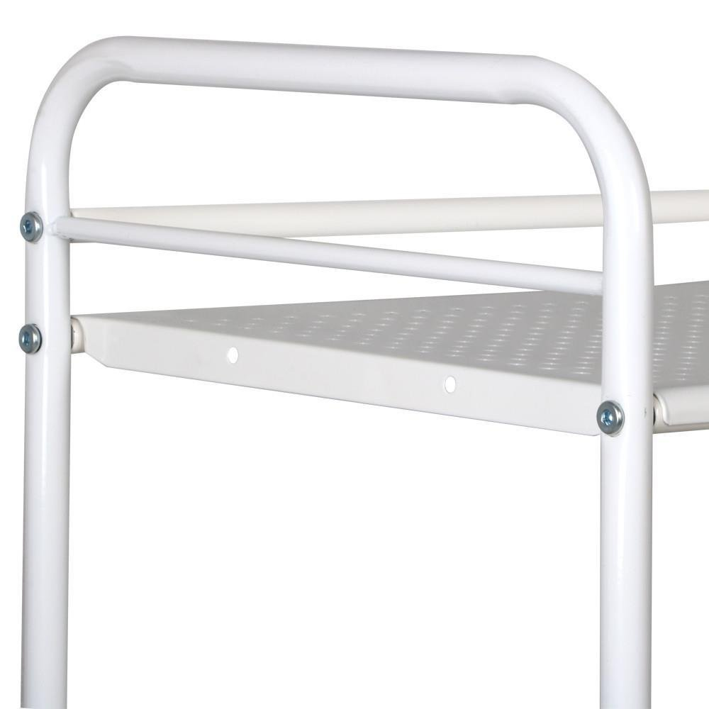 Topeakmart Rolling Trolley Cart Kitchen Storage Cart 4 Tier Facial Salon Spa Utility by Topeakmart (Image #4)