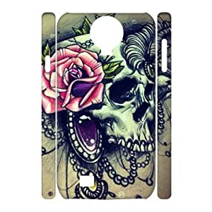 Sugar Skull Phone For Case Samsung Note 4 Cover [Pattern-6]