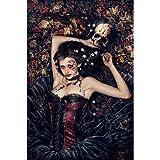 (24x36) Victoria Frances (Skull Girl) Art Poster Print