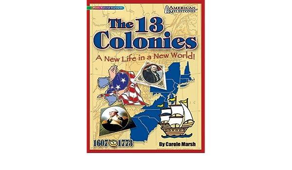 Galopada GAL9780635075079 Hitos las 13 colonias americanas: Amazon.es: Juguetes y juegos