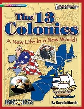 Galopada GAL9780635075079 Hitos las 13 colonias americanas
