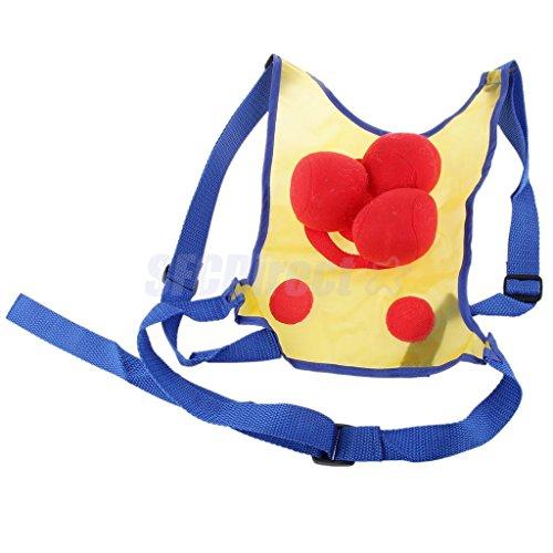VIPASNAM-Kids Fun Throw Toss Ball Stick Vest Dodgeball Outdoor Beach Play Toy Gift