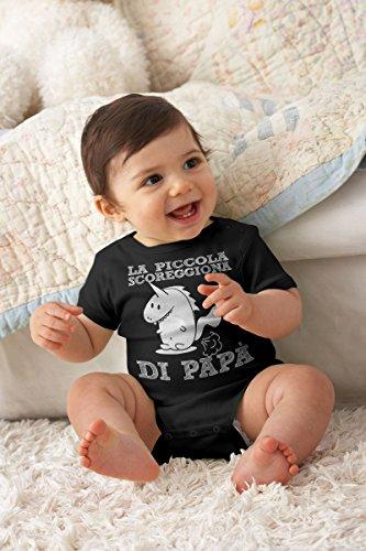 La Di Piccola Rosa Papà Neonato Shirtgeil Body Corta Manica Idea Divertente Regalo Scoreggiona CYaxxtOqw