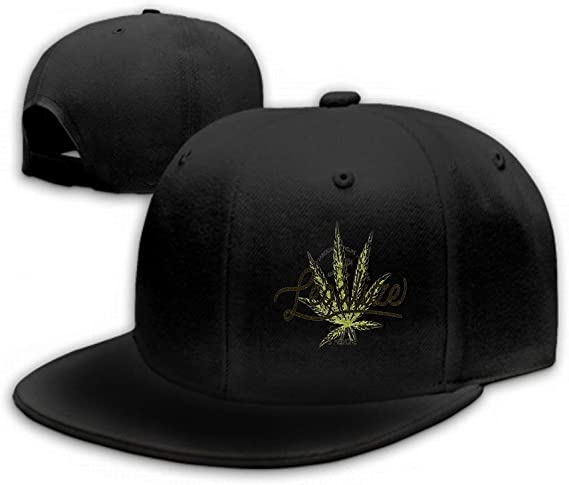 Legalize Orange Cannabis Leaf Young Men HatTrendy Portable Work Hat