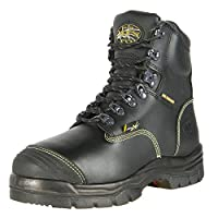"Oliver 55 Series 6"" Leather Steel Toe Puncture-Resistant Men's Metatarsal Boots, Black (55246)"