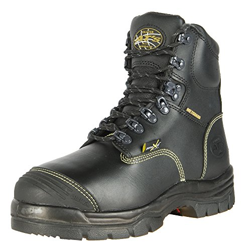 Oliver 55 Series 6'' Leather Steel Toe Puncture-Resistant Men's Metatarsal Boots, Black (55246) by Honeywell (Image #7)