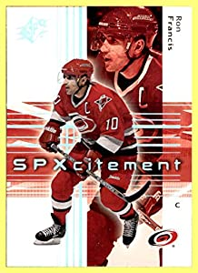 2002-03 SPx #82 Ron Francis carolina hurricanes