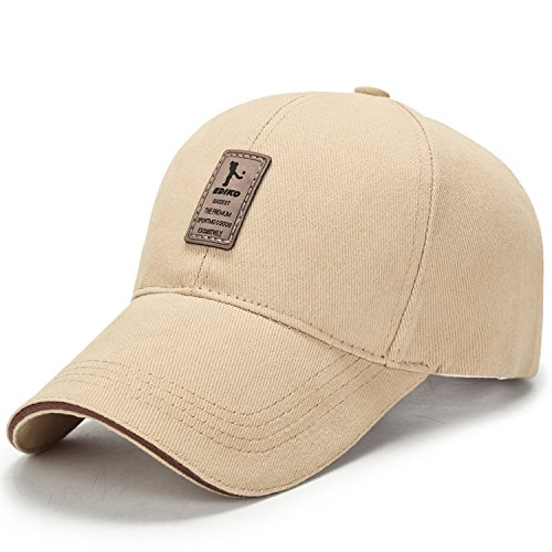 Spring Cotton Cap Baseball Cap Hat Summer Cap Hip Hop Fitted Cap Hats for Men Women Grinding Multicolor Khaki