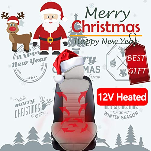 Big Ant Heated Seat Cushion, 12V Car 24V Truck Seat Heater Sleek Design Nonslip Heating Pad Winter W - http://coolthings.us
