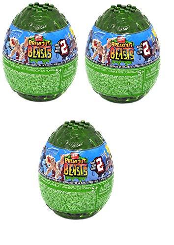 Breakout Beasts Slime Eggs Series 2 (Pack of Three Surprise Eggs) by Mega Brands (Image #2)