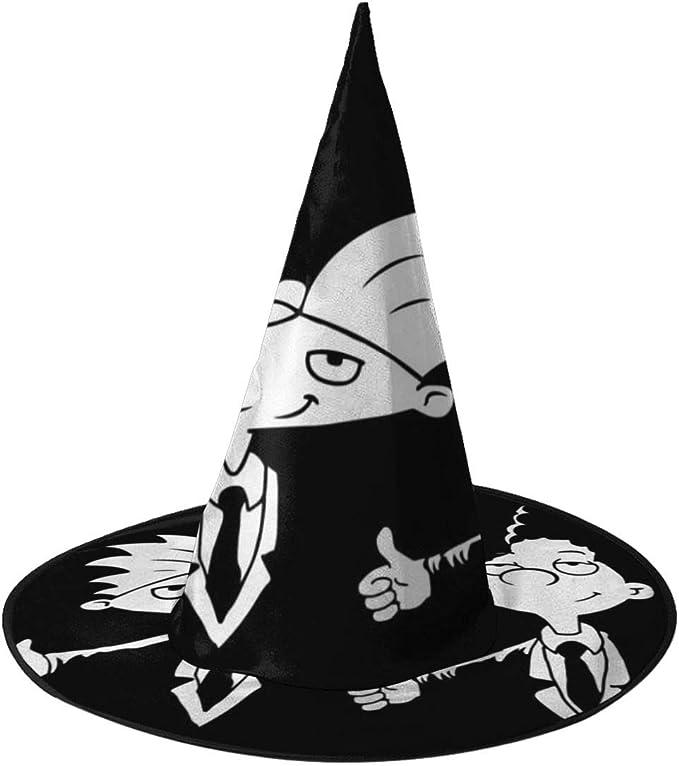 NUJIFGYTCRD Hey Arnold Pulp Fiction Sombrero de Bruja Unisex ...