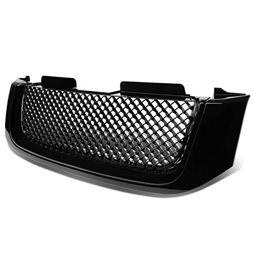 -BK Front Bumper Grille Guard [For 02-09 GMC Envoy XL/XUV] ()
