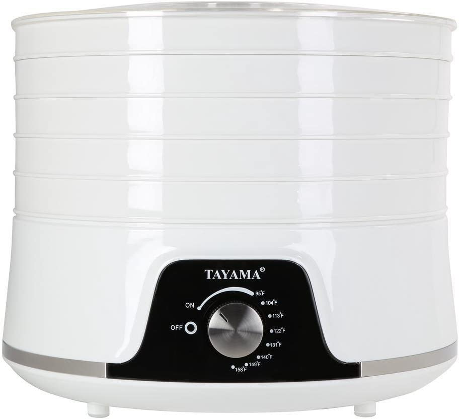 Tayama TYR-323A Food Dehyrator, Large, White