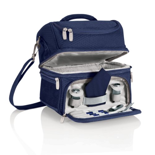 ONIVA - a Picnic Time Brand Pranzo Insulated Lunch Tote, Navy