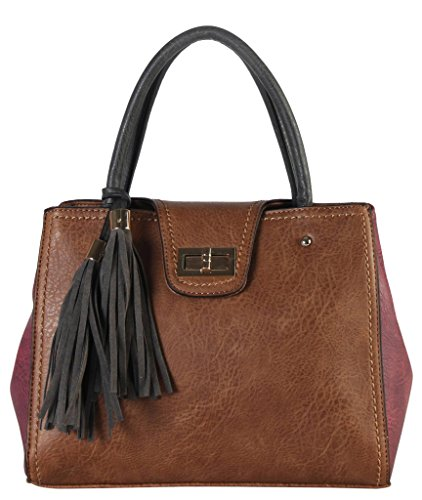 diophy-women-handbags-hobo-tote-shoulder-bags-pu-leather-two-tone-with-turn-lock-closure-and-tassels