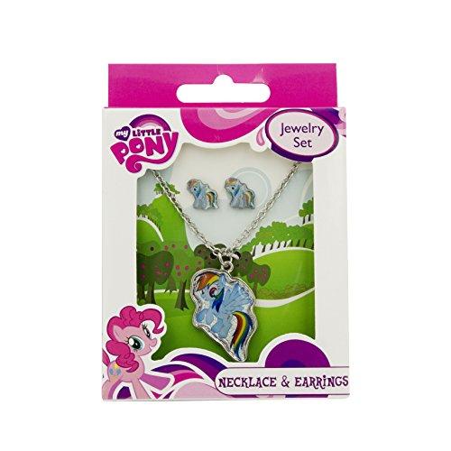 My Little Pony Girls' Rainbow Dash Set]()