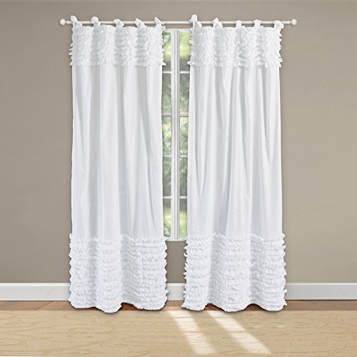 Greenland Home Lush Voile Pair Window (Pottery Barn Drapes)