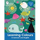 Learning Colours in Samoan and English (Tui Language Books) (Samoan Edition)