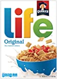 Quaker Life Cereal, Original, 18-Ounce Box .