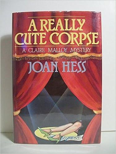 Téléchargement gratuit de livres en ligneA Really Cute Corpse (Claire Malloy Mysteries, No. 4) in French 0312022719 by Joan Hess