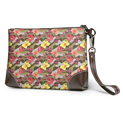 Women's Leather Clutch Camo...